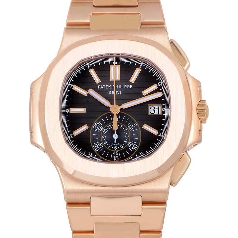Rose Gold Men's Nautilus 5980/1R-001