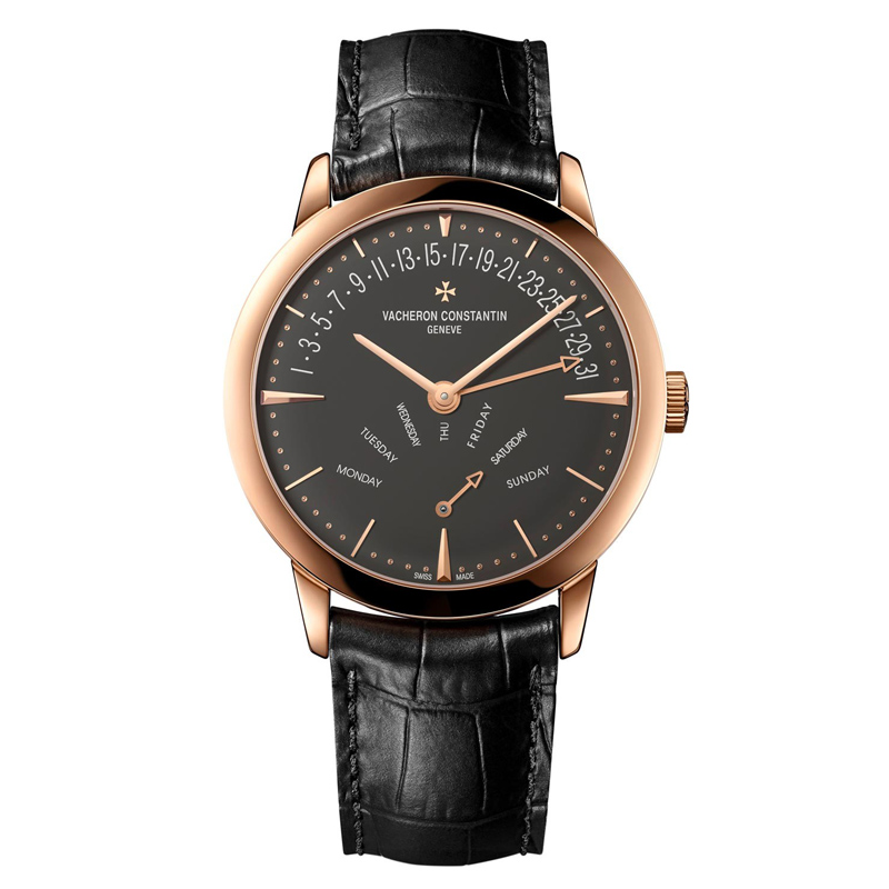 Patrimony Retrograde Day-Date 86020/000R-9940 (Rose Gold)