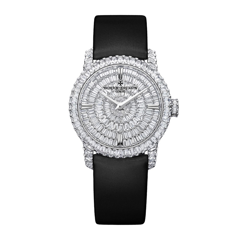 Patrimony Traditionnelle High Jewelry Small Model 25760/000G-9945