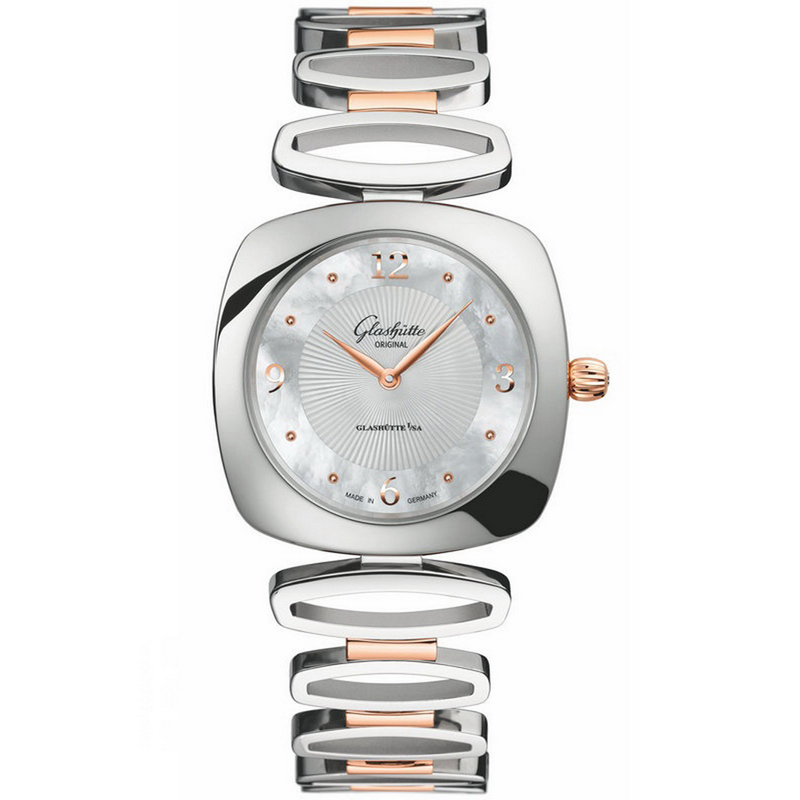 Pavonina 1-03-02-03-06-14 (Stainless Steel and Rose Gold)