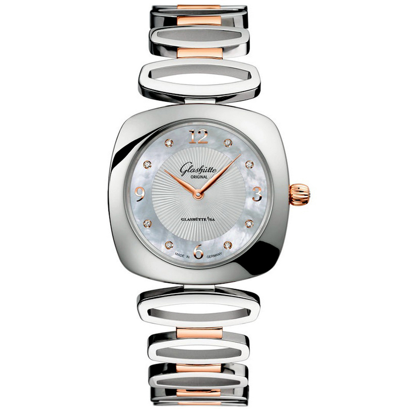Pavonina 1-03-02-04-16-14 (Stainless Steel and Rose Gold)