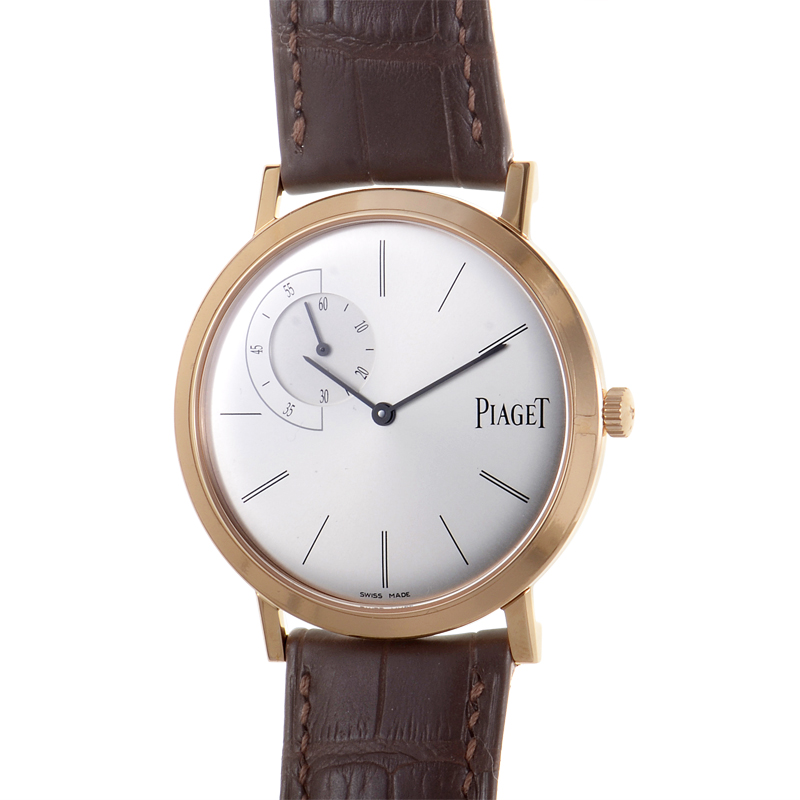 Watchnet luxury time fs piaget altiplano watch g0a34113 for Altiplano watches