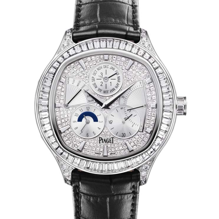 Piaget Emperador cushion-shaped watch G0A35020