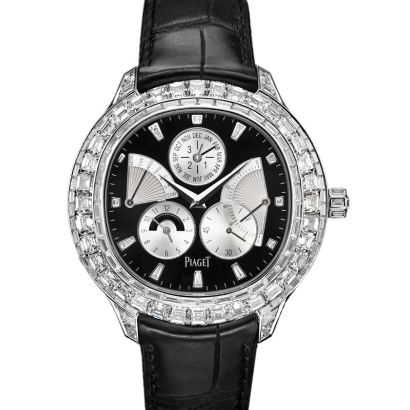 Piaget Emperador cushion-shaped watch G0A37020