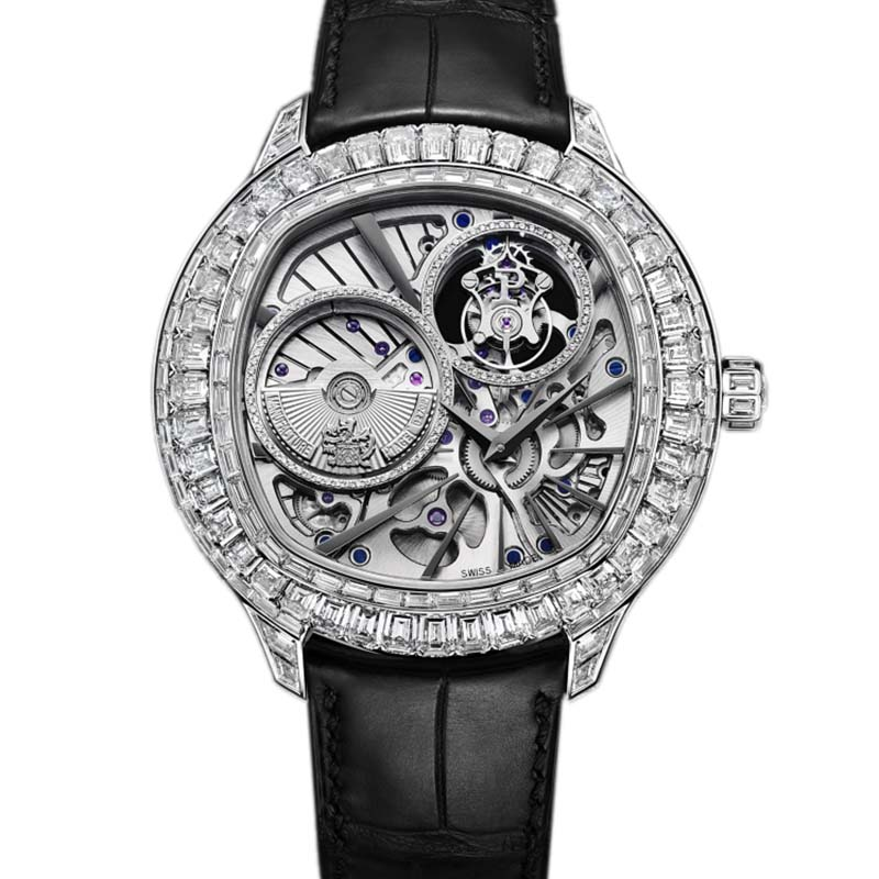 Piaget Emperador cushion-shaped watch G0A37039