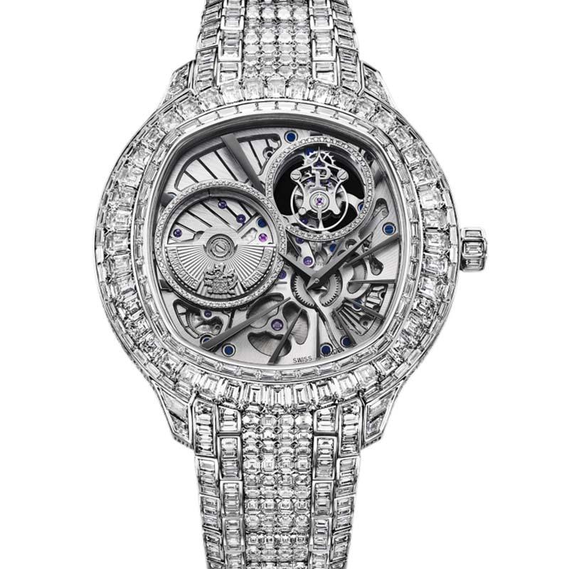 Piaget Emperador Cushion-Shaped Watch G0A37040
