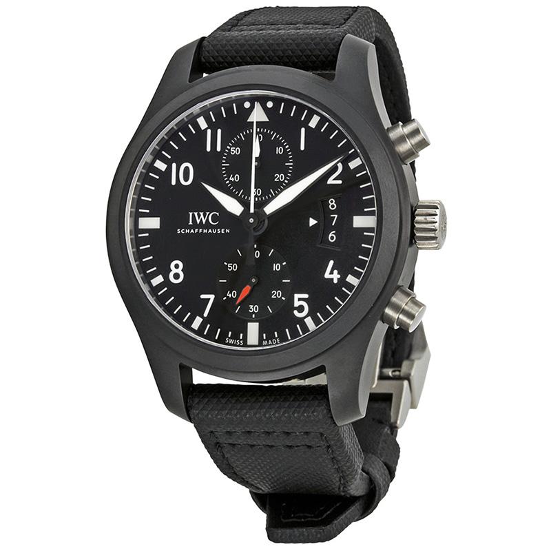 Pilot's Watch Chronograph TOP GUN IW388007 (Ceramic and Titanium)