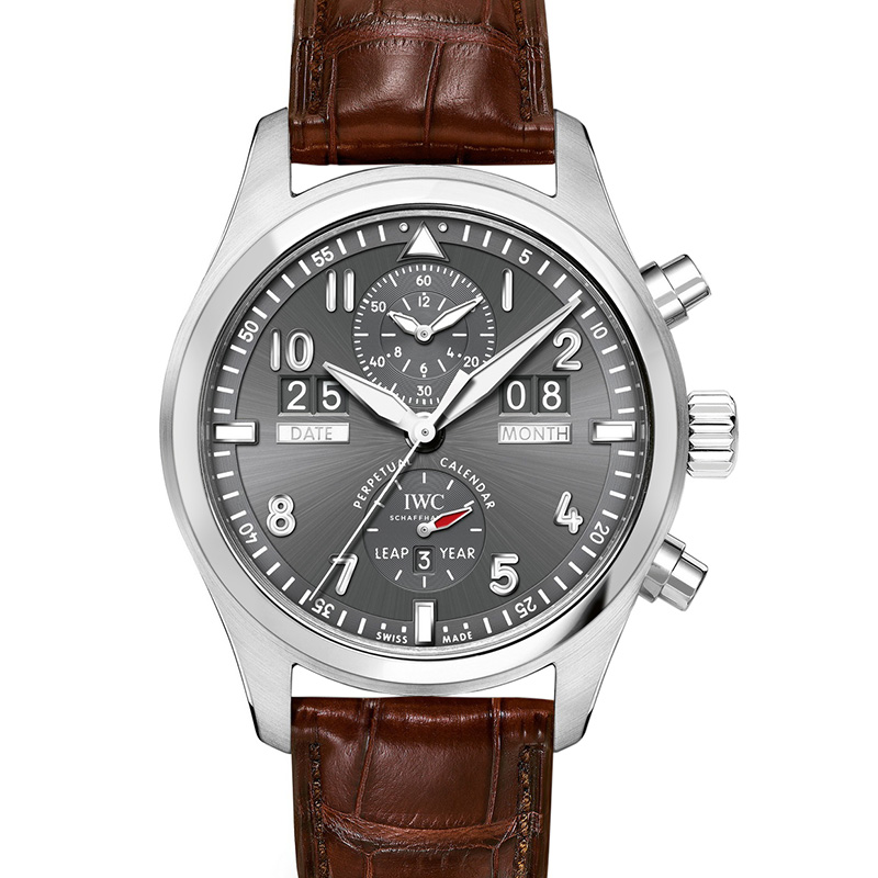 Pilot's Watch Spitfire Perpetual Calendar Digital Date-Month IW379107 (Stainless Steel)