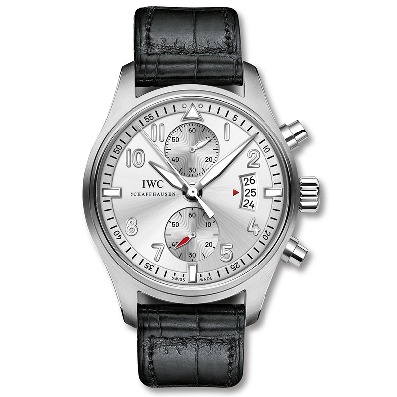 Pilot's Watch Chronograph Edition ''JU-AIR'' IW387809 (Stainless Steel)