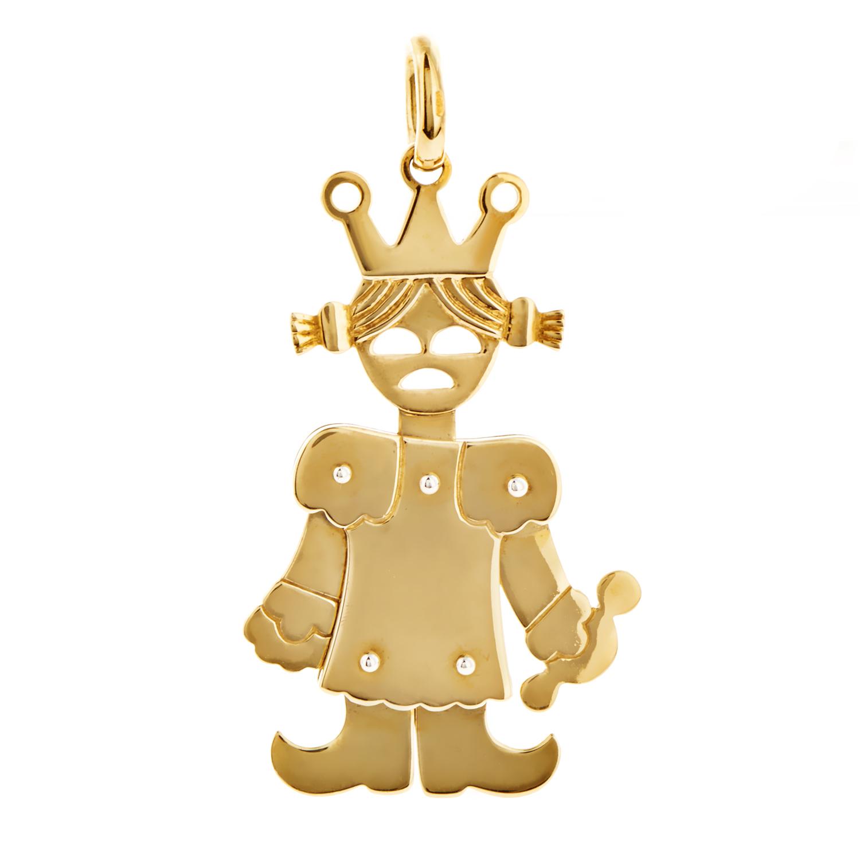 Pomellato Women's 18K Yellow Gold Princess Pendant