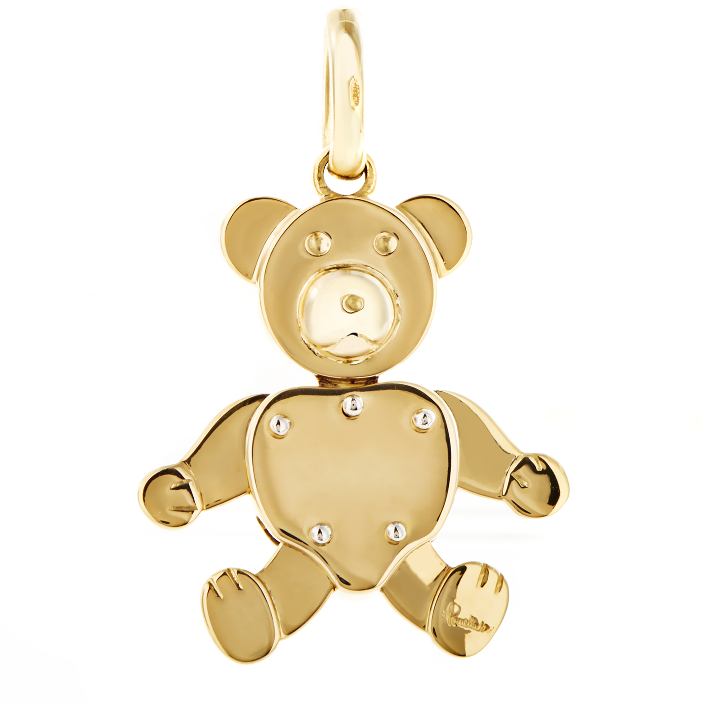 Pomellato Women's 18K Yellow Gold Teddy Bear Pendant