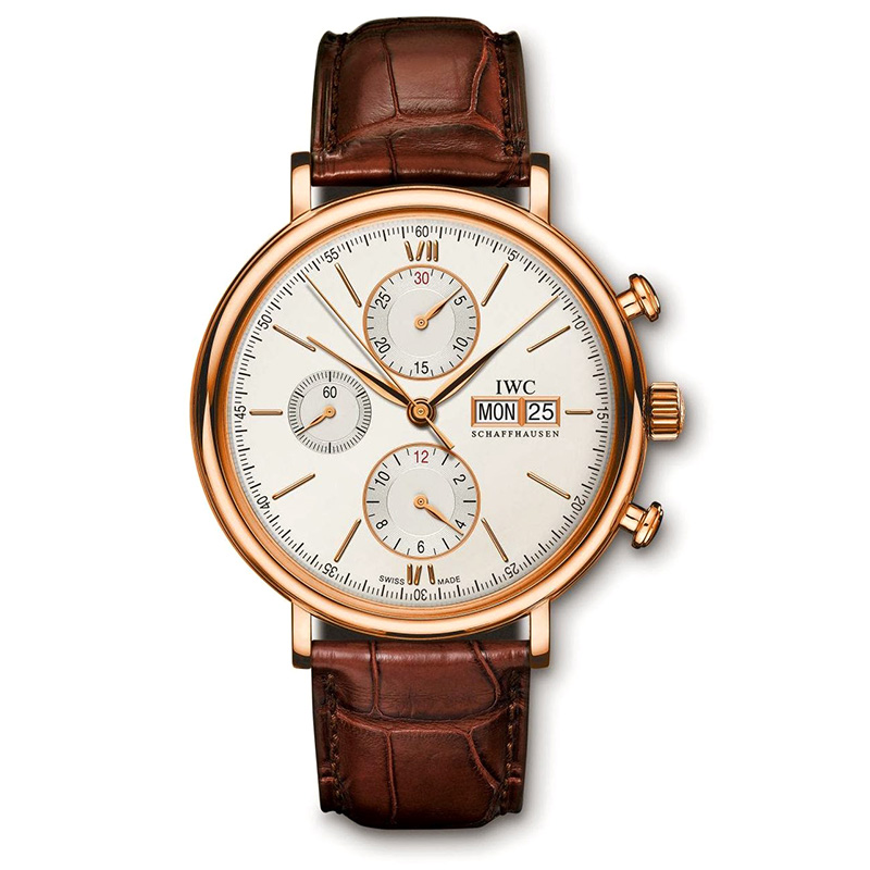 Portofino Chronograph IW391020 (Rose Gold)