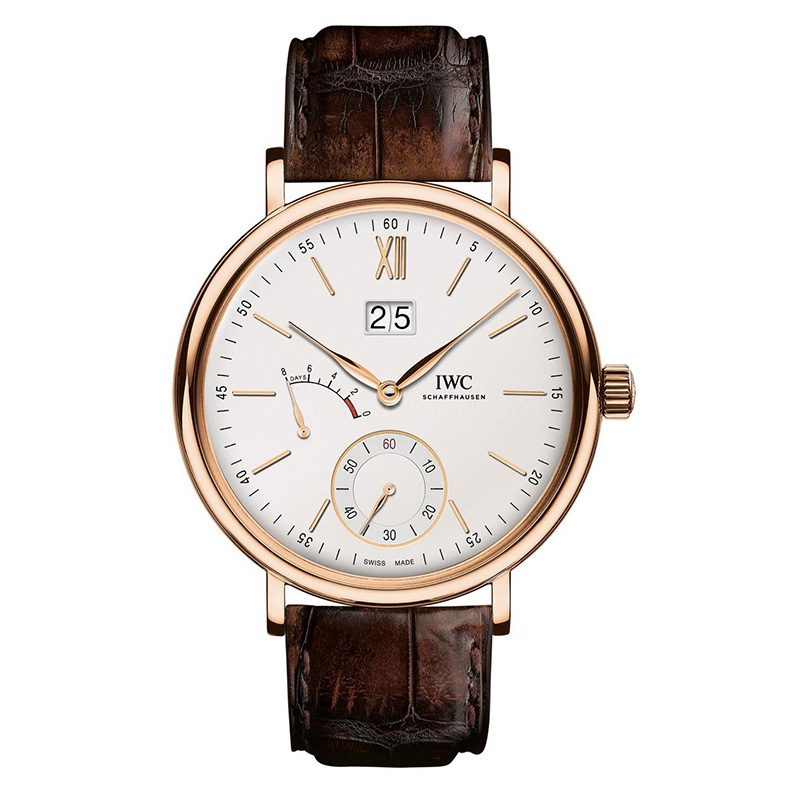 Portofino Hand-Wound Big Date IW516102 (Rose Gold)