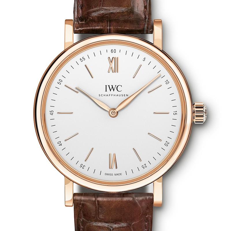 Portofino Hand-Wound Pure Classic IW511101 (Rose Gold)