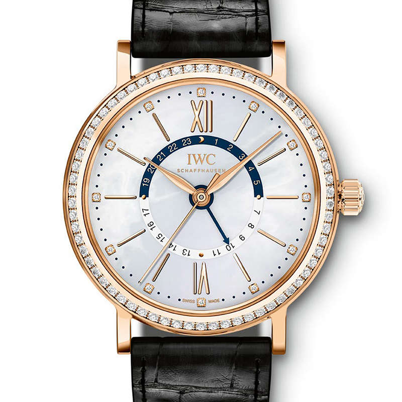 Portofino Midsize Automatic Day & Night IW459102 (Rose Gold)