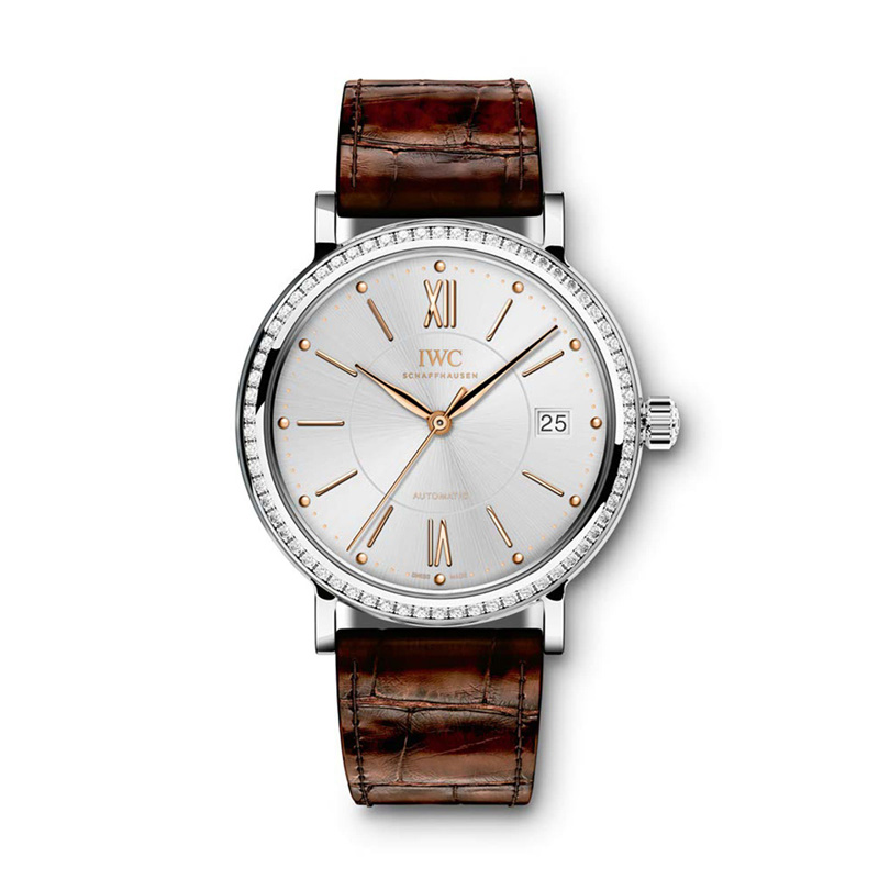 Portofino Midsize Automatic IW458103 (Stainless Steel)