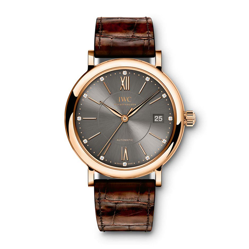 Portofino Midsize Automatic IW458106 (Rose Gold)