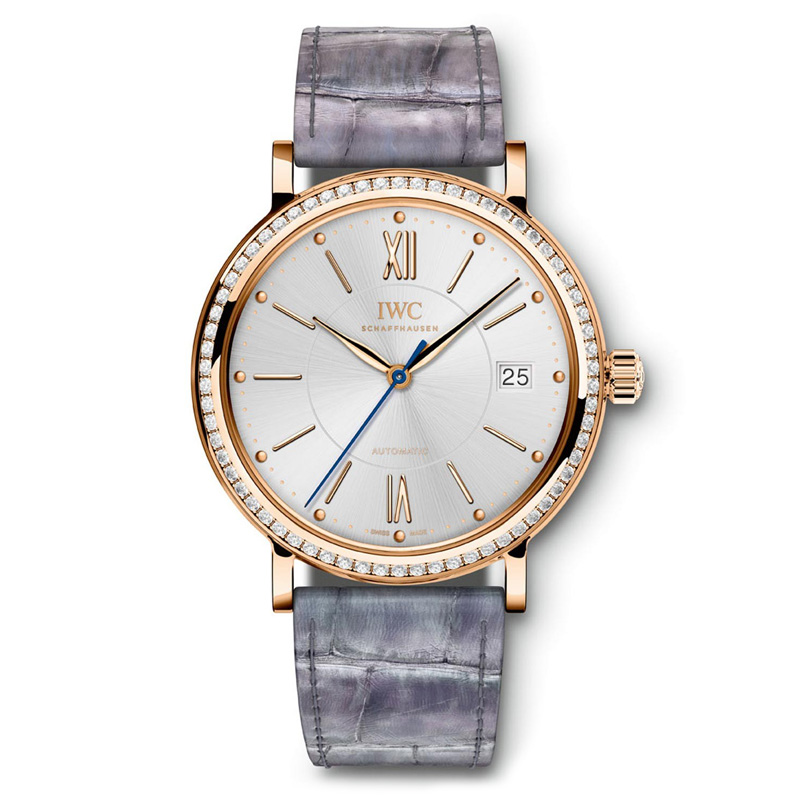 Portofino Midsize Automatic IW458107 (Rose Gold)