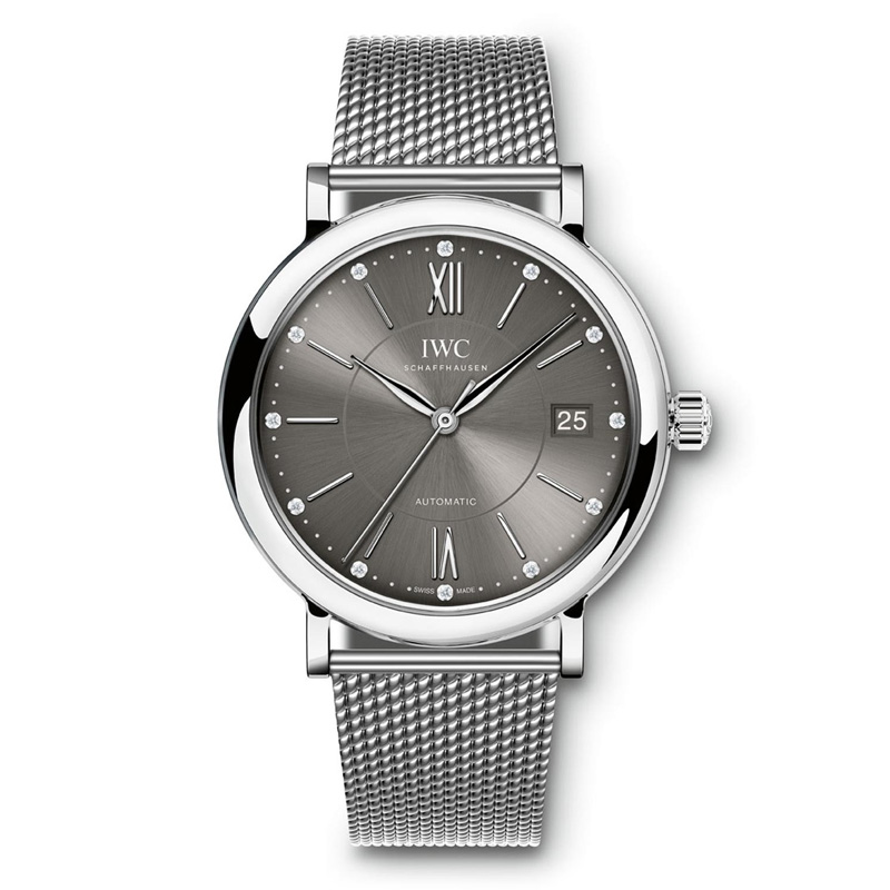 Portofino Midsize Automatic IW458110 (Stainless Steel)