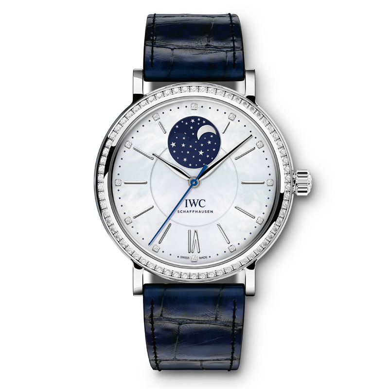 Portofino Midsize Automatic Moon Phase IW459001 (Stainless Steel)