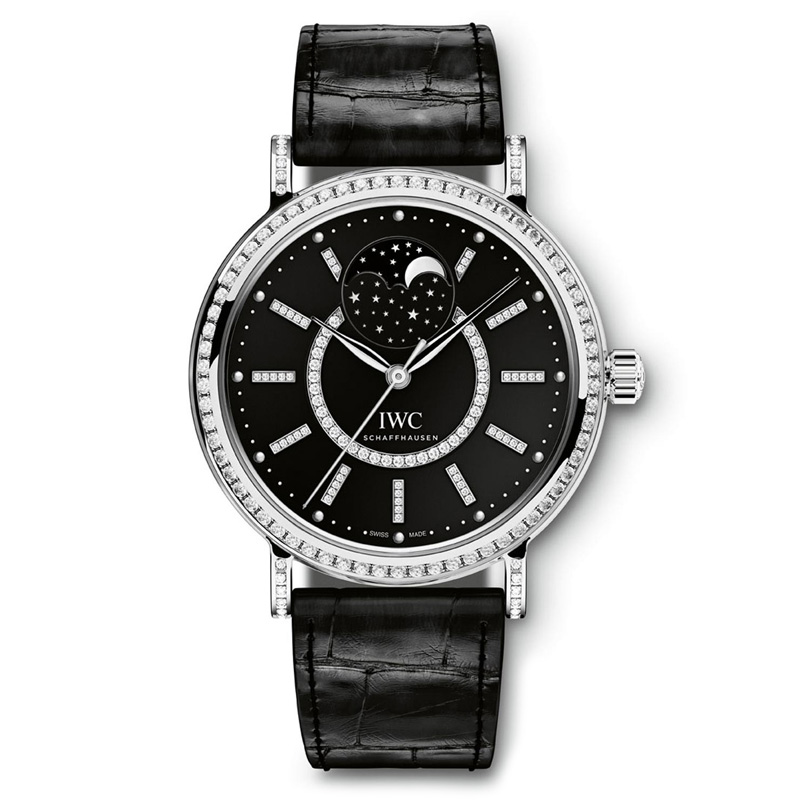 Portofino Midsize Automatic Moon Phase IW459004 (White Gold)