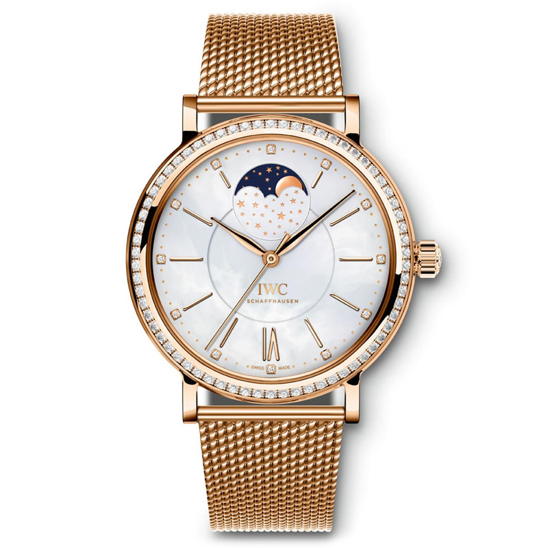 Portofino Midsize Automatic Moon Phase IW459005 (Rose Gold)