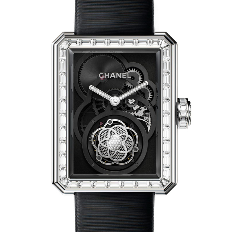 Première Openwork Flying Tourbillon Spinels POFTS/WG-2 (White Gold)