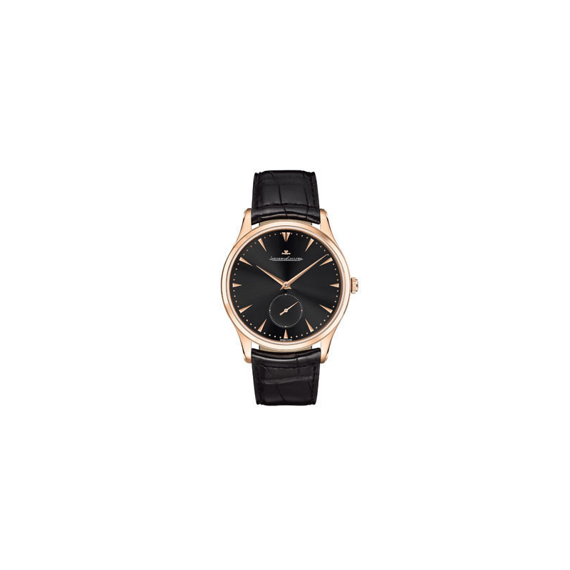 Jaeger LeCoultre Master Grande Ultra Thin (RG/ Black /Leather)