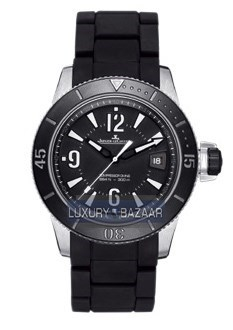Master Compressor Diving Automatic Navy SEALs (SS / Black / Rubber Strap)