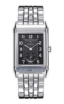 Grande Reverso 976 (PG / Black / SS Bracelet)