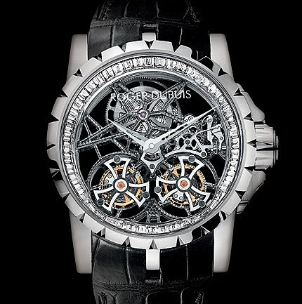 Excalibur Skeleton Double Flying Tourbillon RDDBEX0252