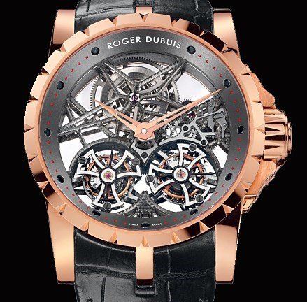 Excalibur Skeleton Double Flying Tourbillon RDDBEX0253