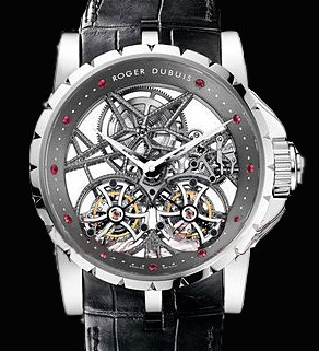 Excalibur Skeleton Double Flying Tourbillon RDDBEX0269