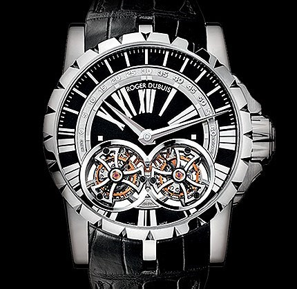 Excalibur Skeleton Double Flying Tourbillon RDDBEX0248