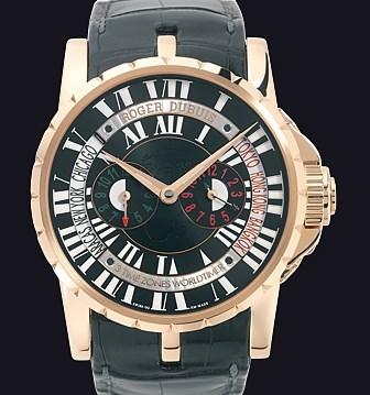 Excalibur Triple Time Zone RDDBEX0202