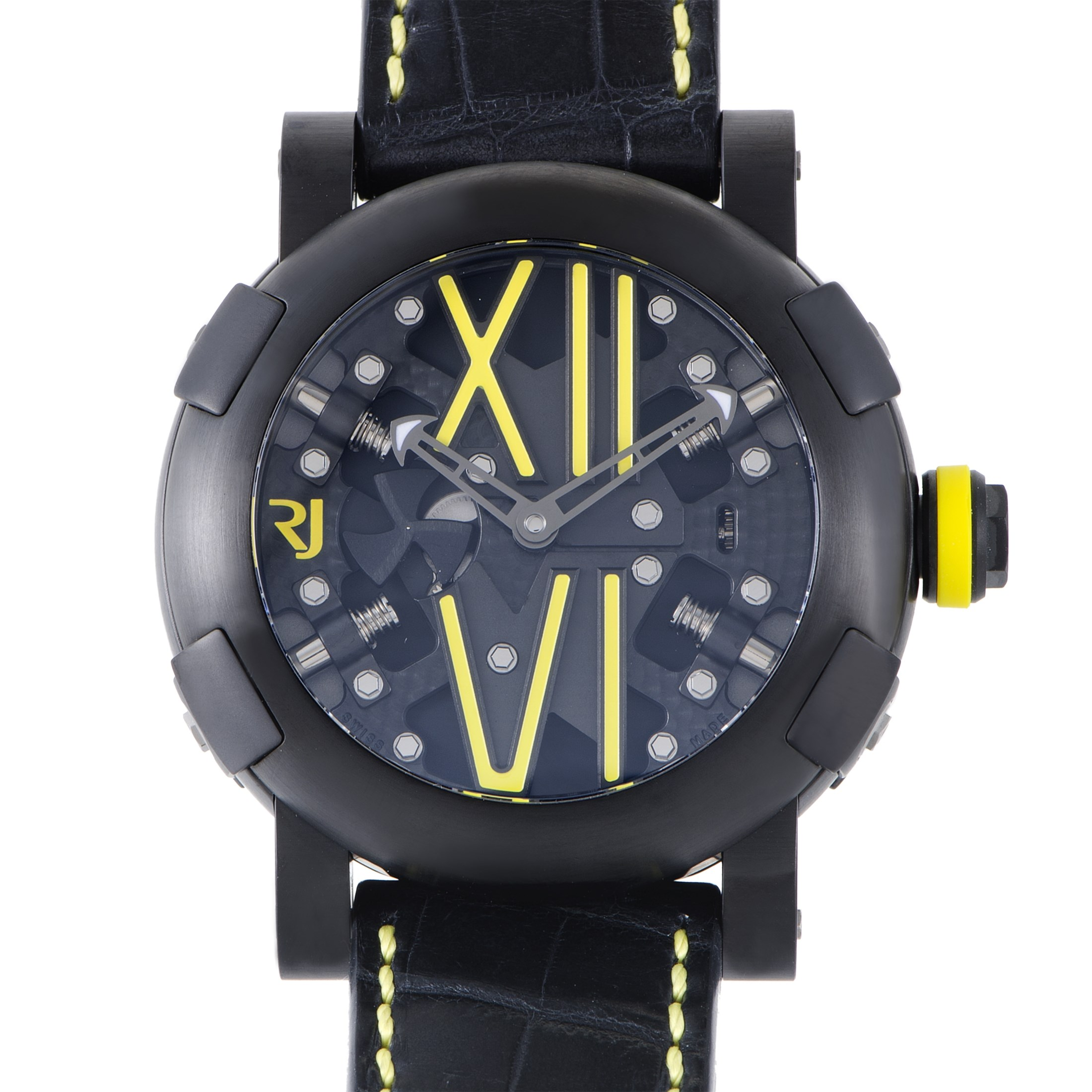 Steampunk Auto Yellow Mens Watch RJ.T.AU.SP.005.06