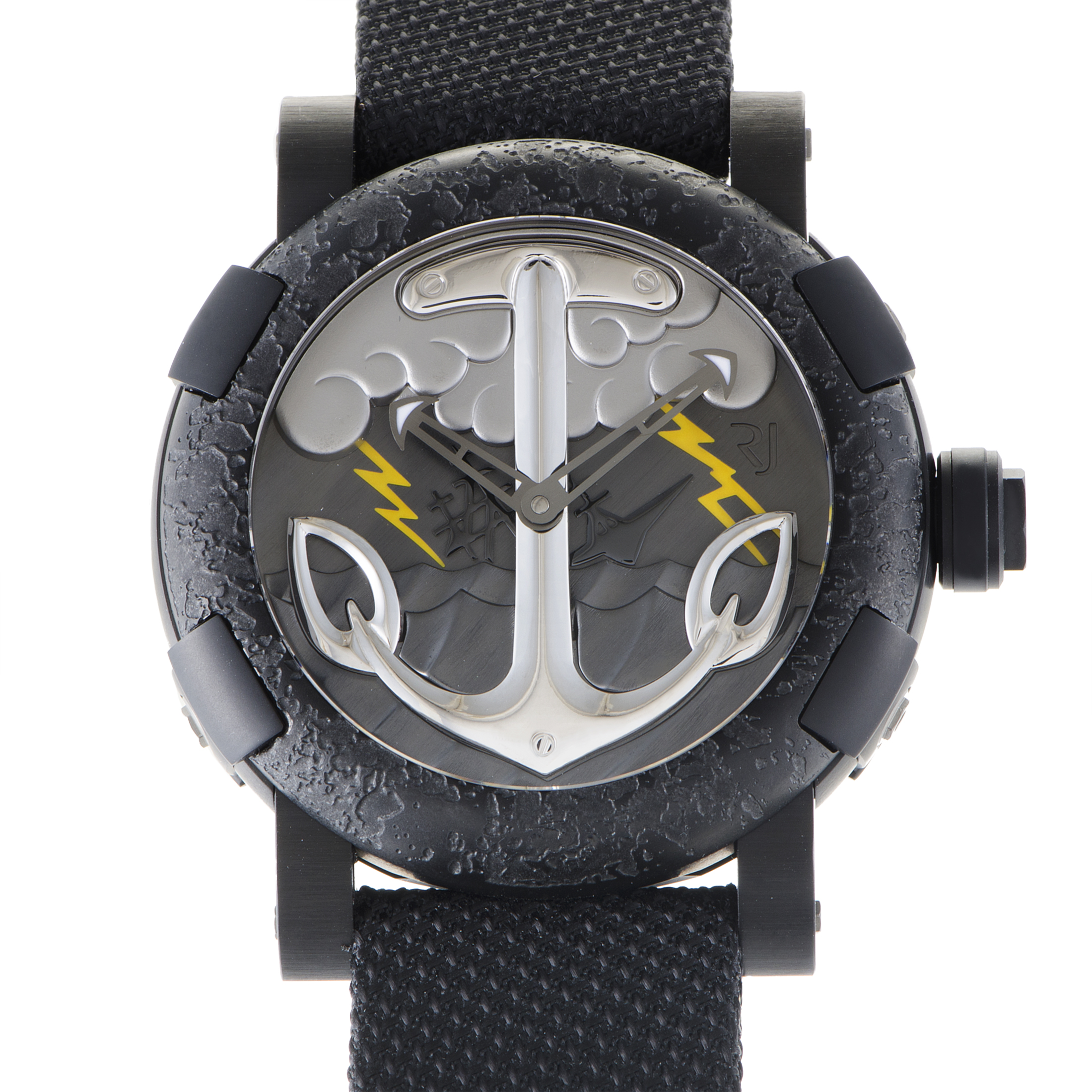 TATTOO BLACK YELLOW Mens Automatic Watch RJ.T.AU.TT.002.01