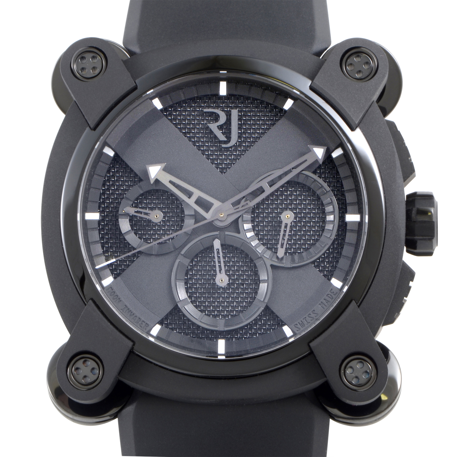 Moon Invader Black Metal Chronograph RJ.M.CH.IN.001.01