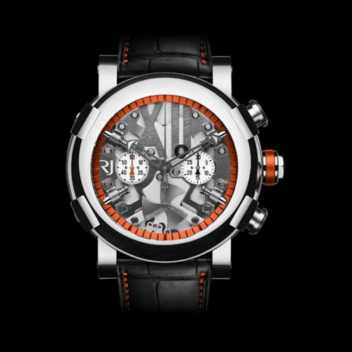 STEAMPUNK CHRONO ORANGE RJ.T.CH.SP.005.03