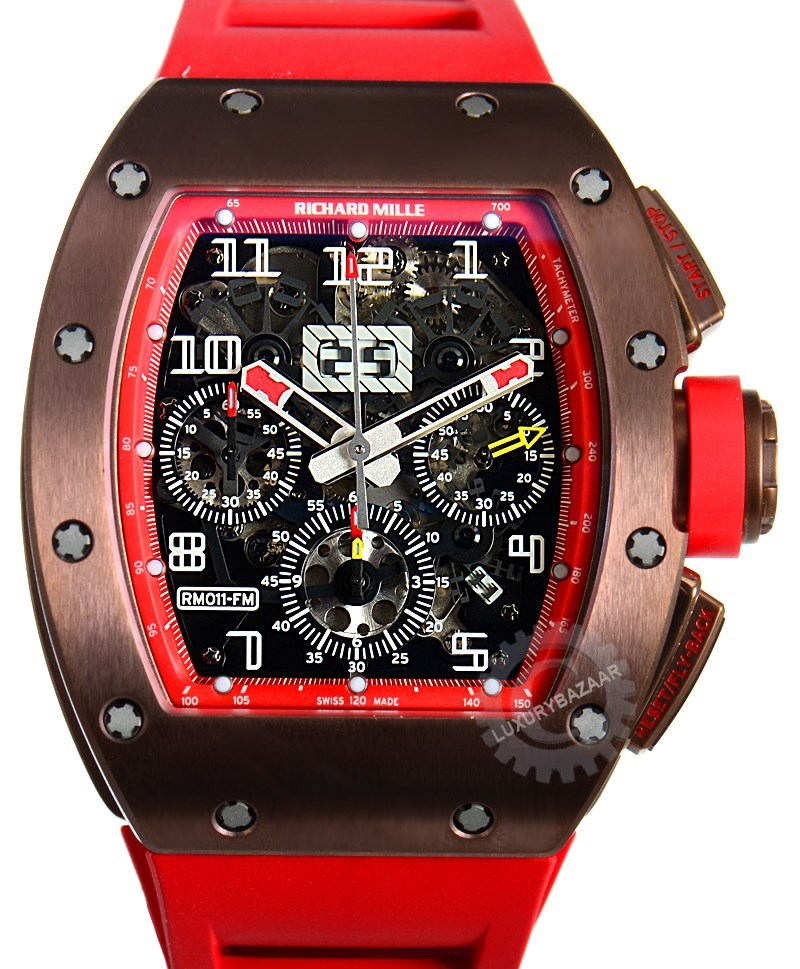 RM 011 Felipe Massa Titanium Red