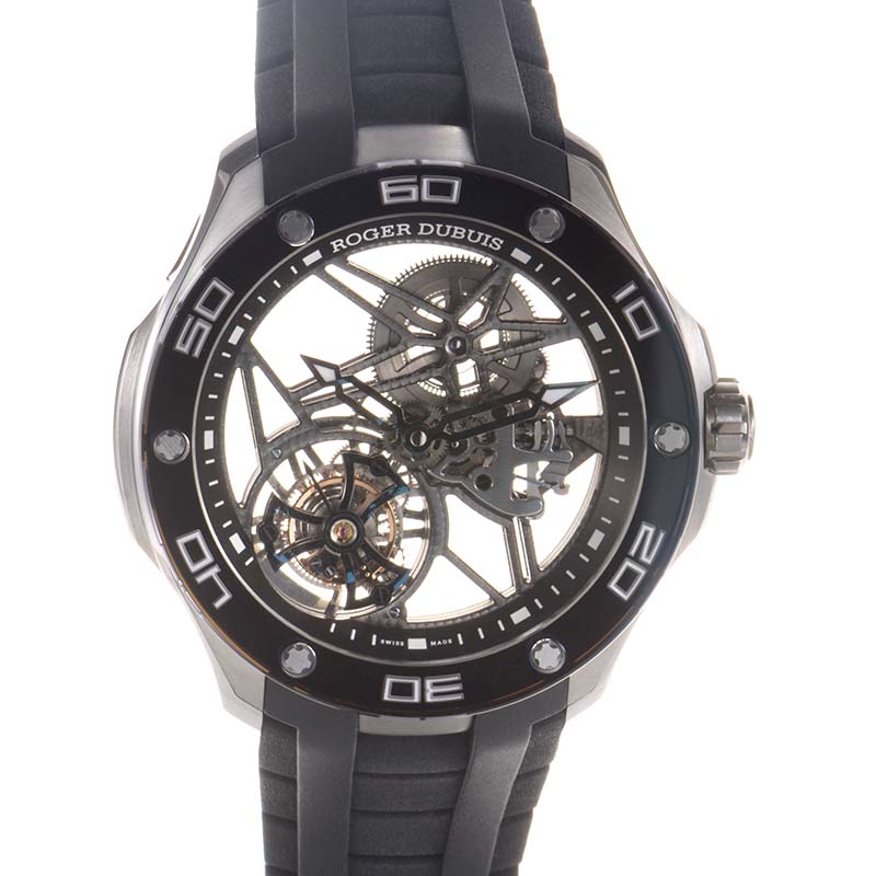 Pulsion Skeleton Flying Tourbillon Titanium RDDBPU0002