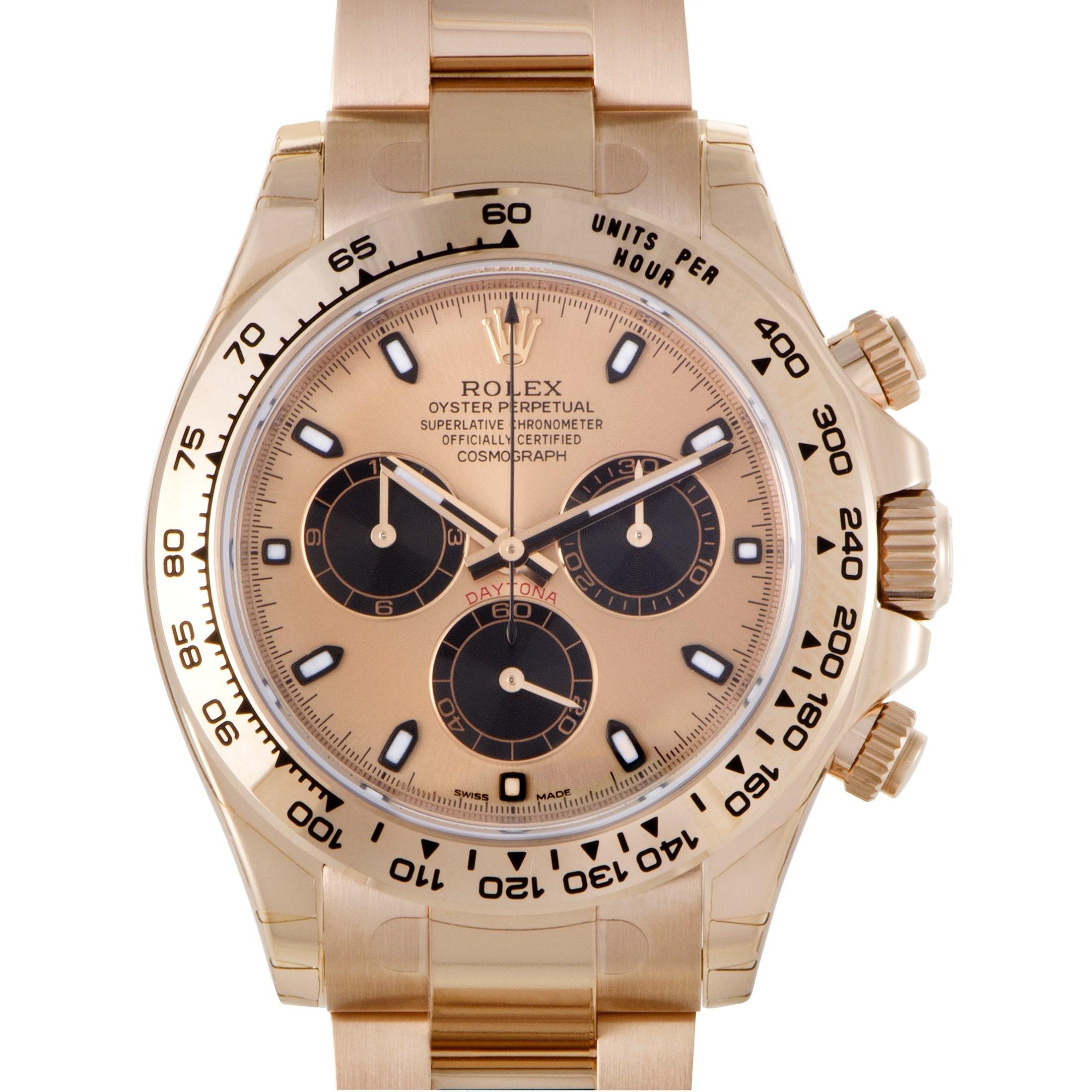 Oyster Perpetual Cosmograph Daytona Automatic Watch 116505 pbk