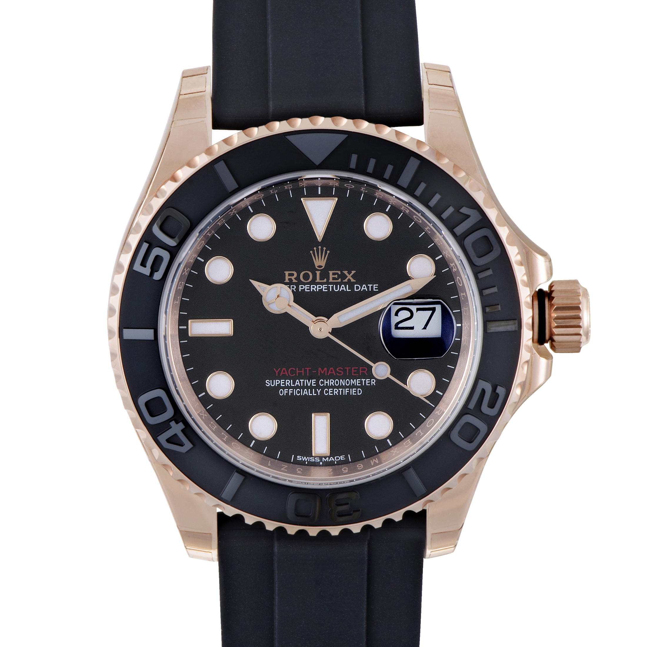 Oyster Perpetual Yacht-Master Mens Automatic Watch 116655