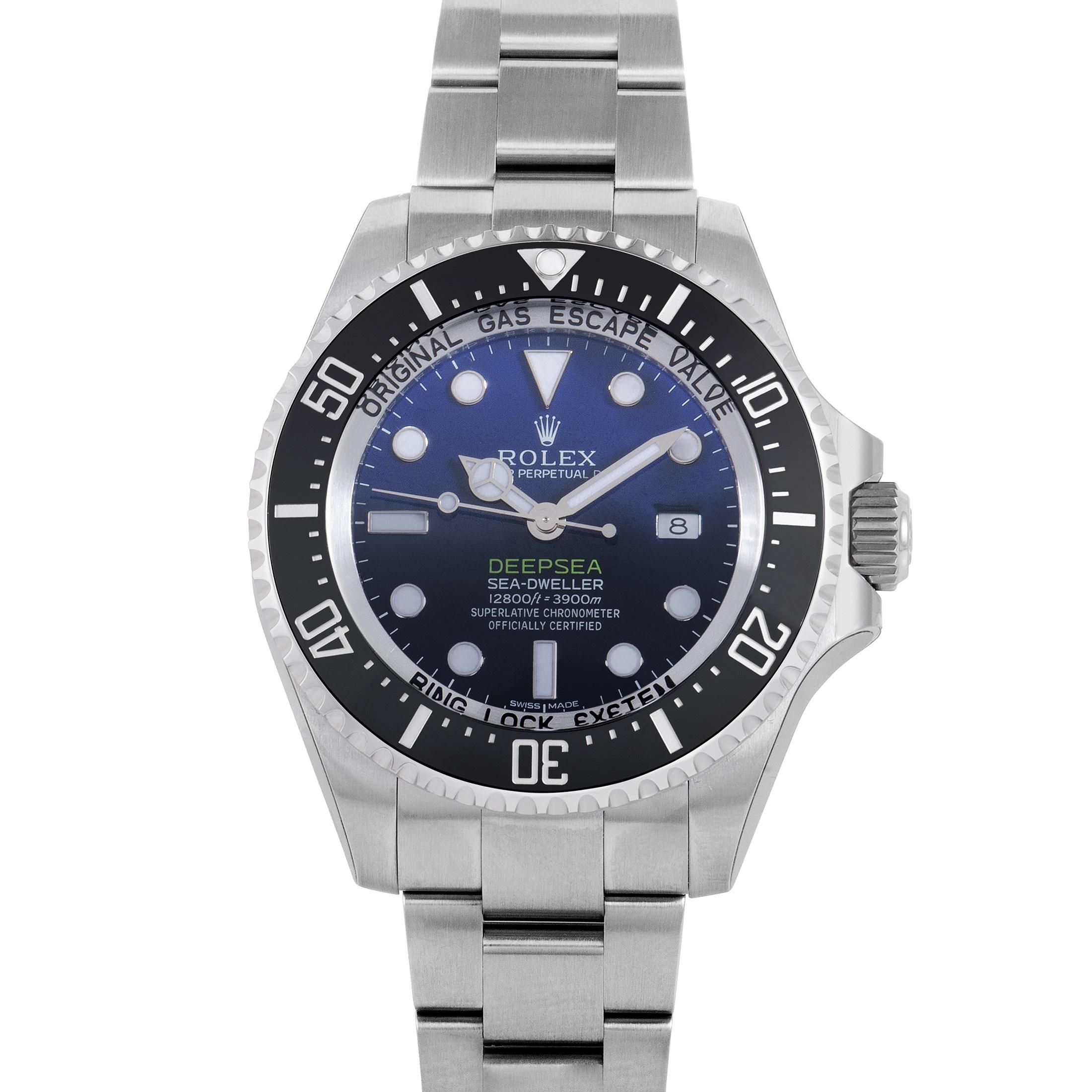 Oyster Perpetual Sea-Dweller DEEPSEA Mens Automatic Watch 116660 dbl