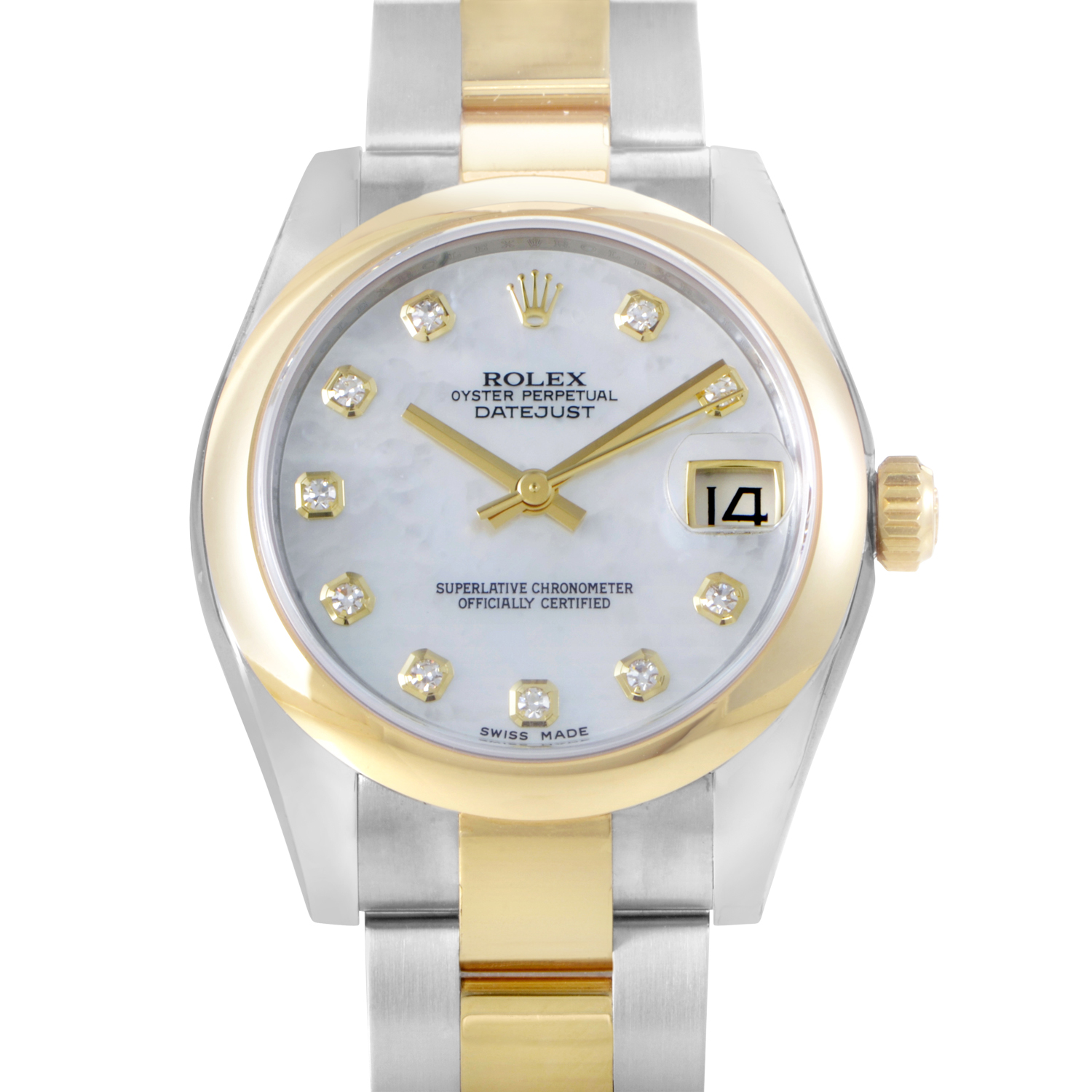 Oyster Perpetual Datejust 31mm Domed Bezel 178243 mdo