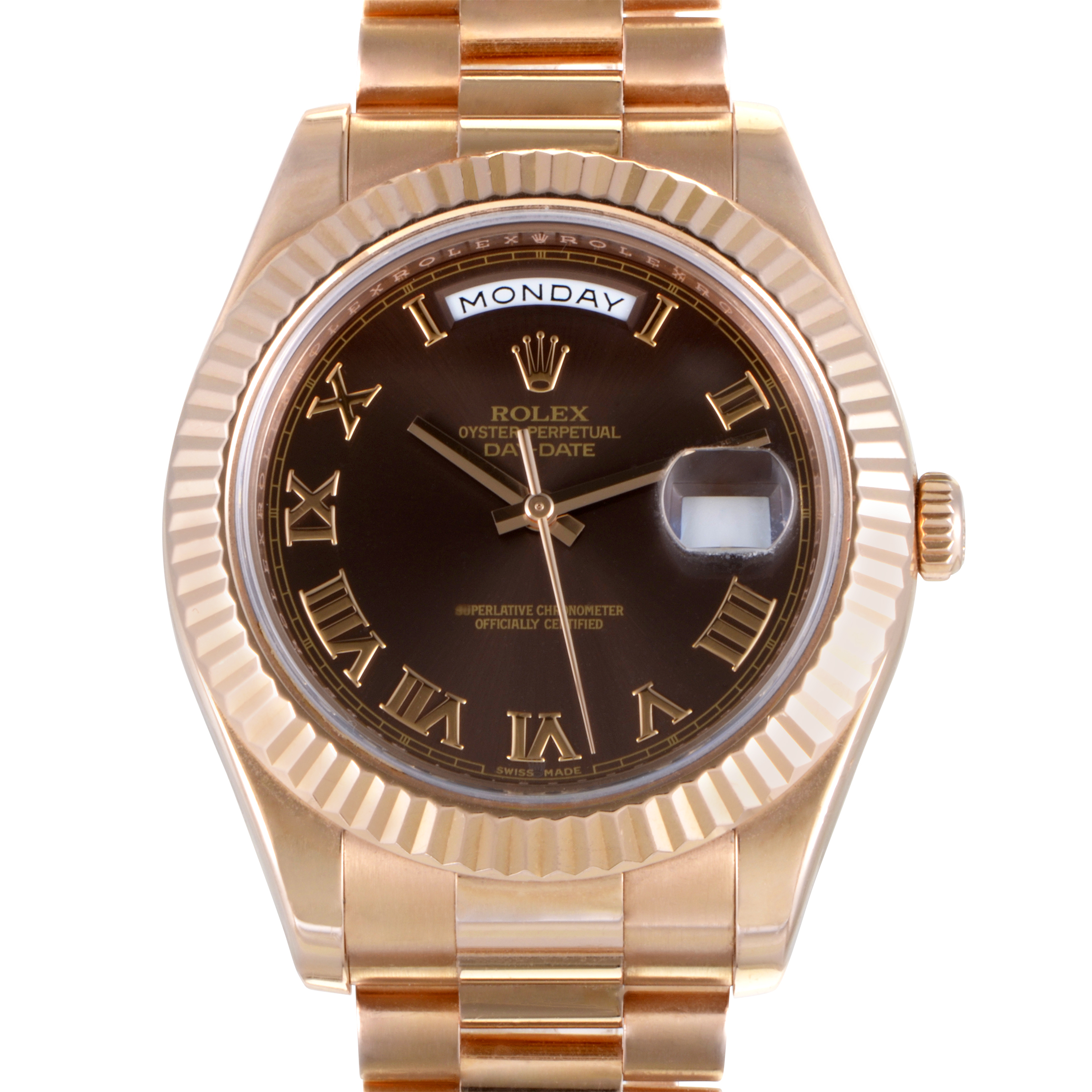Oyster Perpetual Day-Date II Men's Automatic Watch 218235 brrp
