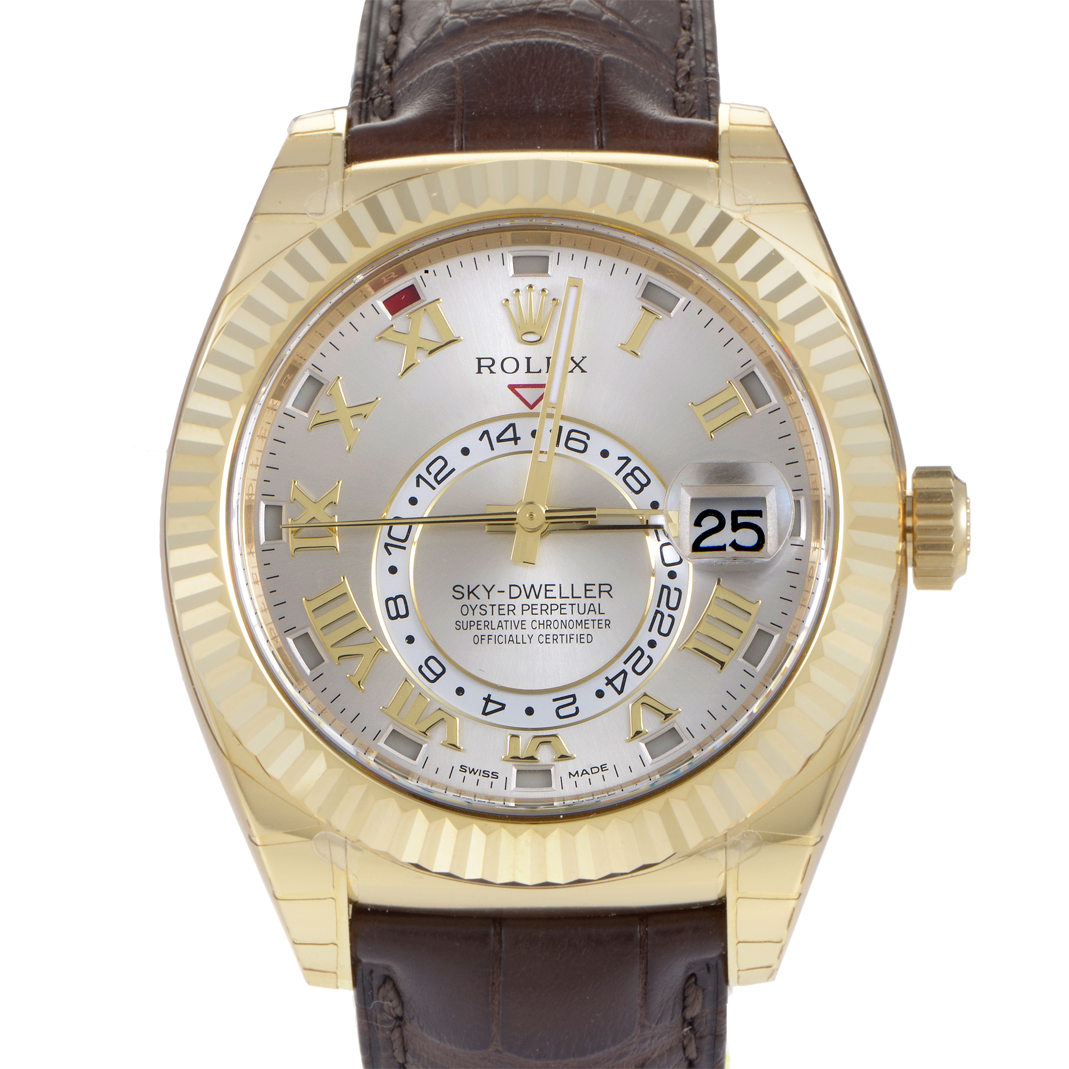 Oyster Perpetual Sky-Dweller Mens Automatic Watch 326138