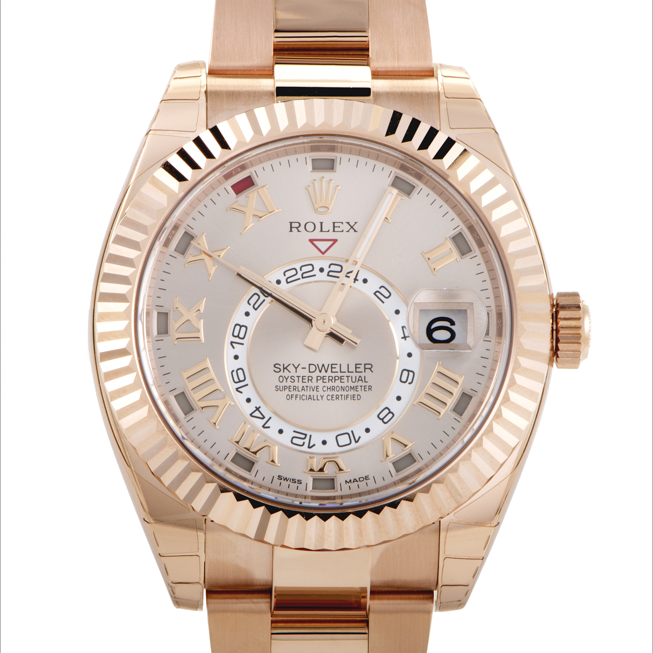 Oyster Perpetual Sky-Dweller Mens Automatic Watch 326935