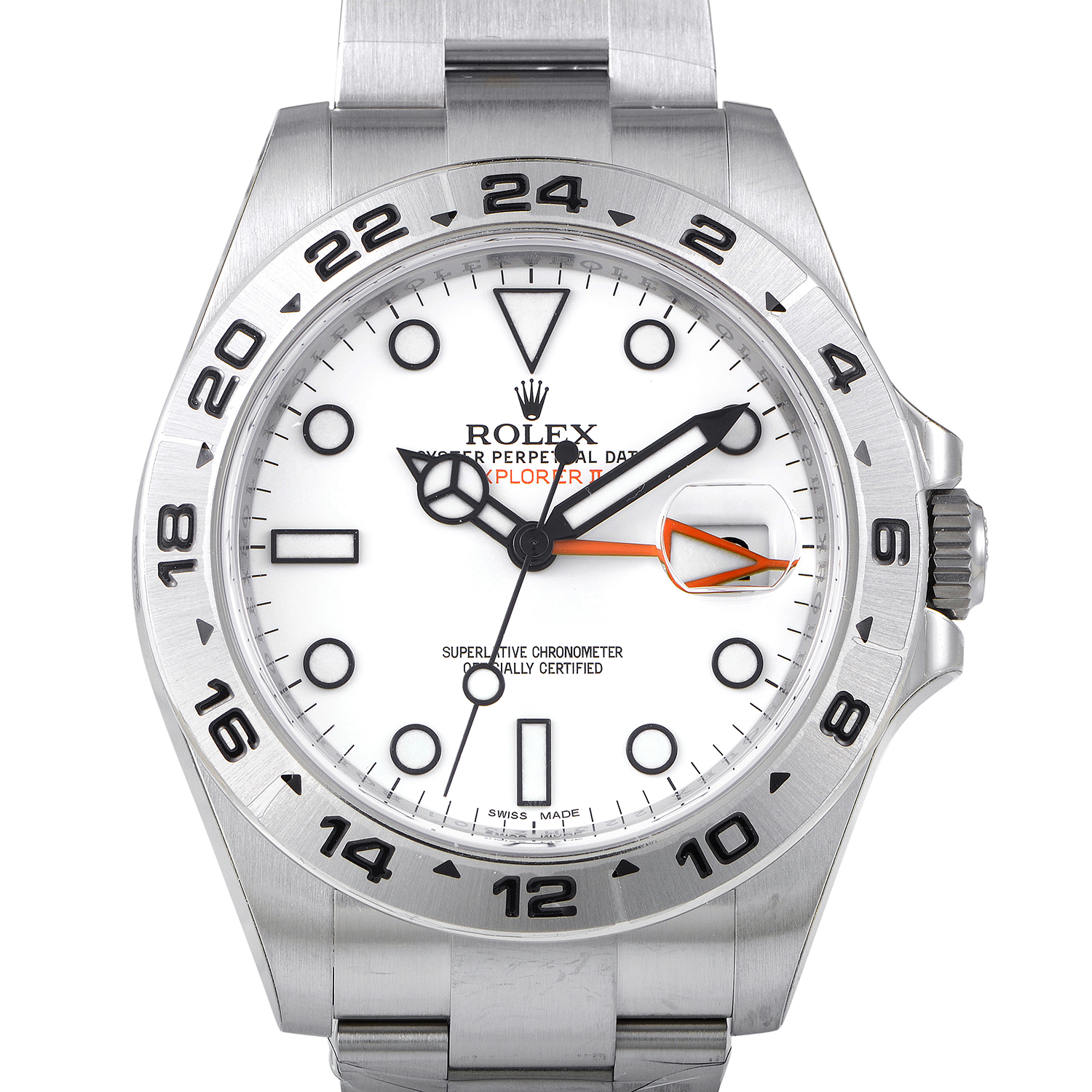 Oyster Perpetual Explorer II 216570 w