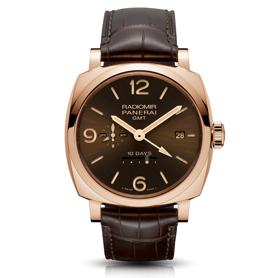 Radiomir 1940 10 Days GMT Automatic Oro Rosso - 45mm PAM00624